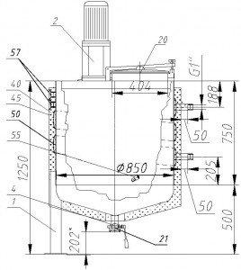 Аппарат ВПК01-0,5-0К-ТК-МДЛТ-400