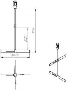 Графическое изображение МДЛТ-2х2650