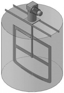 устройство для перемешивания дистиллерной жидкости