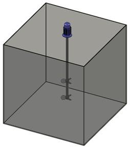 Электромешалка съемная со спец. кронштейном пропеллерного типа
