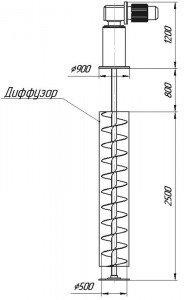 Графическое изображение мешалки