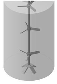 Лопастная мешалка МДЛТ-3х750