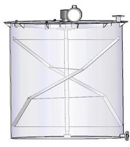 Электромешалка рамного типа МДРТ-Р-7500