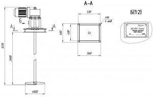 Габаритный чертеж МДПТ-500
