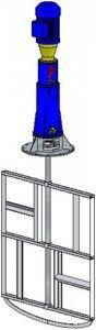 Электромешалка рамного типа МДРТ-1750