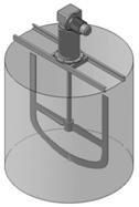 устройство для перемешивания раствора ПАА