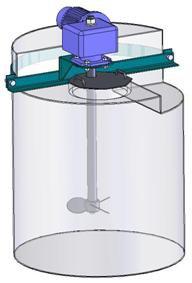 Мешалка пропеллерного типа МДПТ-140