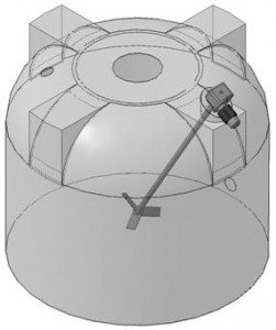 Электромешалка пропеллерного типа МДПТ-360
