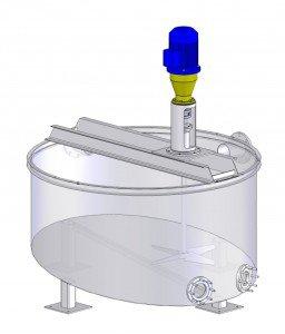 НПО «Талнах» - мешалка, механическое перемешивание, чаны, емкости