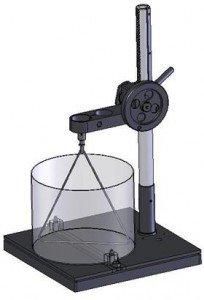 Аппарат для перемешивания эпоксидных и кремнийорганических компаундов