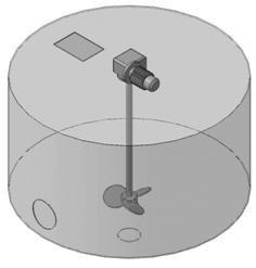 Мешалка пропеллерного типа  МДПТ-300