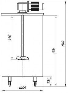 Графическое изображение емкости